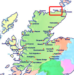 thurso-scotland-map