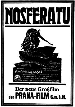 original movie poster, 1922 silent film