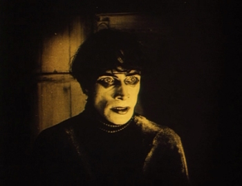 Conrad Veidt as Cesare, the sleepwalker