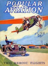 Lindburgh's flight across the Atlantic
