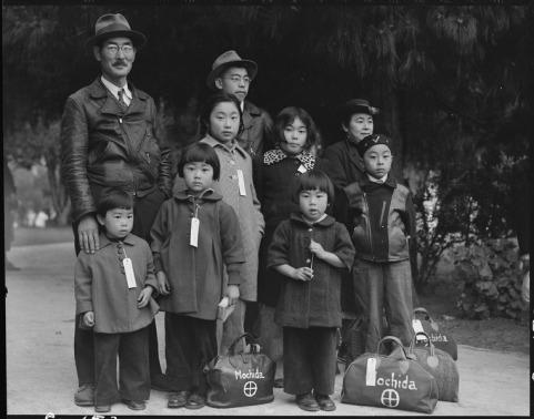 WWII, Japanese Americans interred