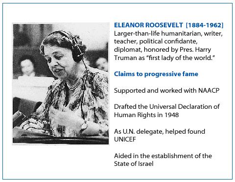 Eleanor Roosevelt – Cindy Bruchman