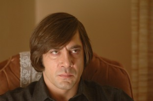 Javier Bardem, Anton in No Country for Old Men