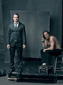 Mickey Rourke & Darren Aronofsky