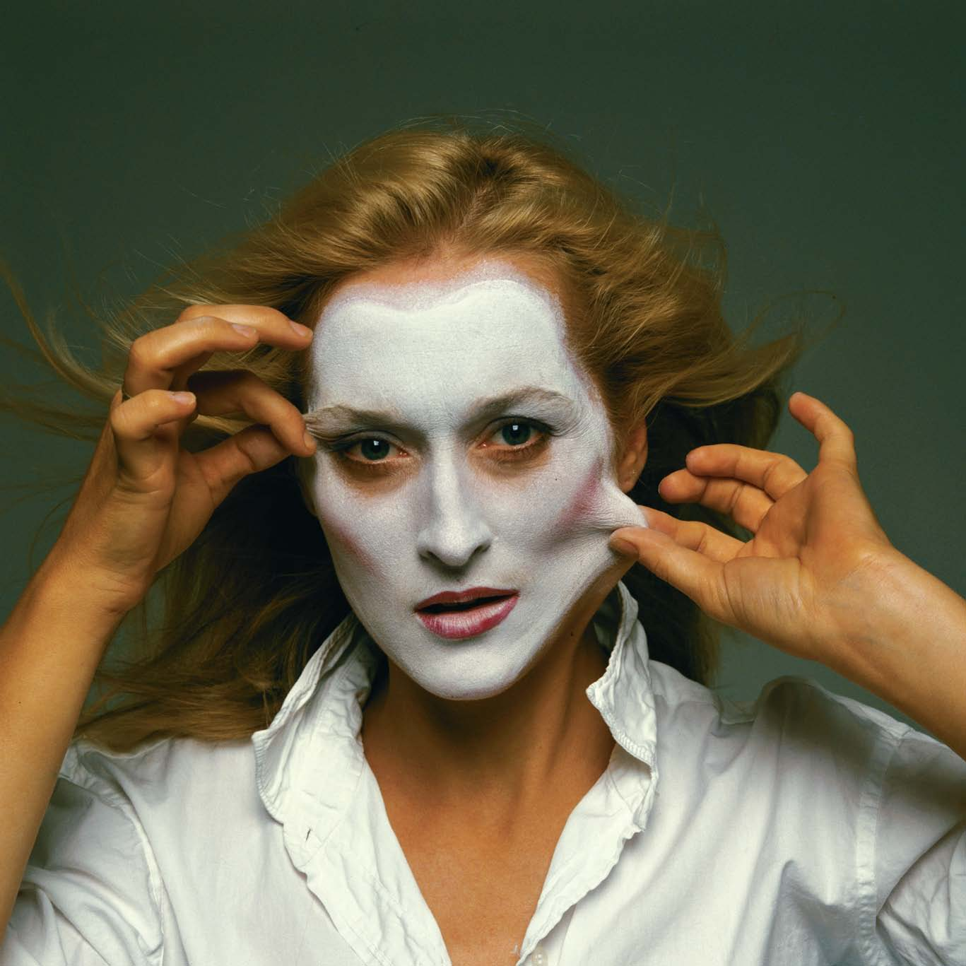 Meryl Streep' by Annie Leibovitz in 1981.