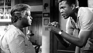 Sidney Poitier and Claudia McNeil, 1961 film verison