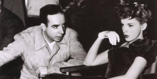 Directing wife Judy Garland