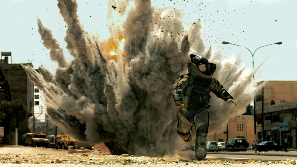The Hurt Locker directed by Kathy Bigelow, 2008.