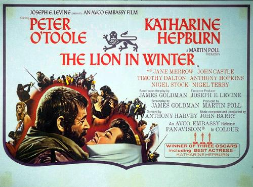 OCTOBER: THE LION IN WINTER