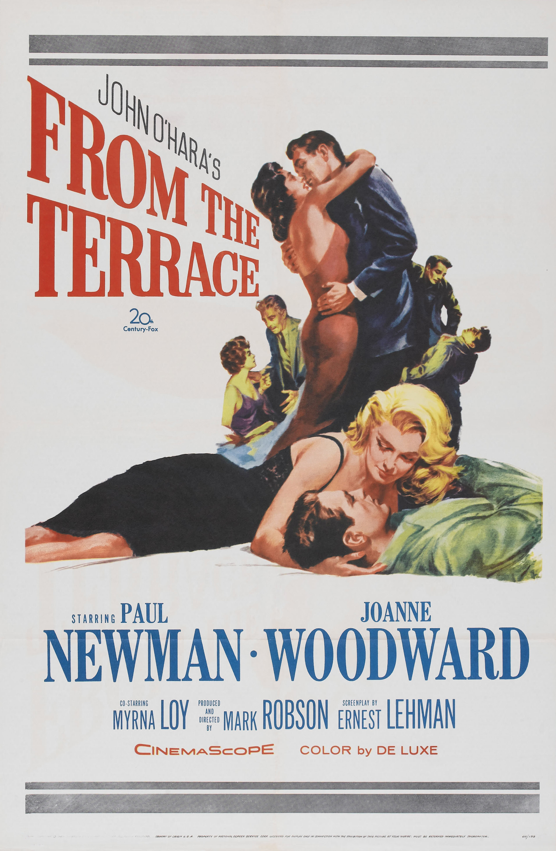 Film spotlight from the terrace 1960 cindy bruchman for The terrace book