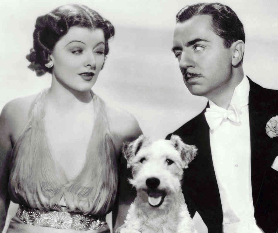 Nick and Laura Charles with Asta. They would pair up in six
