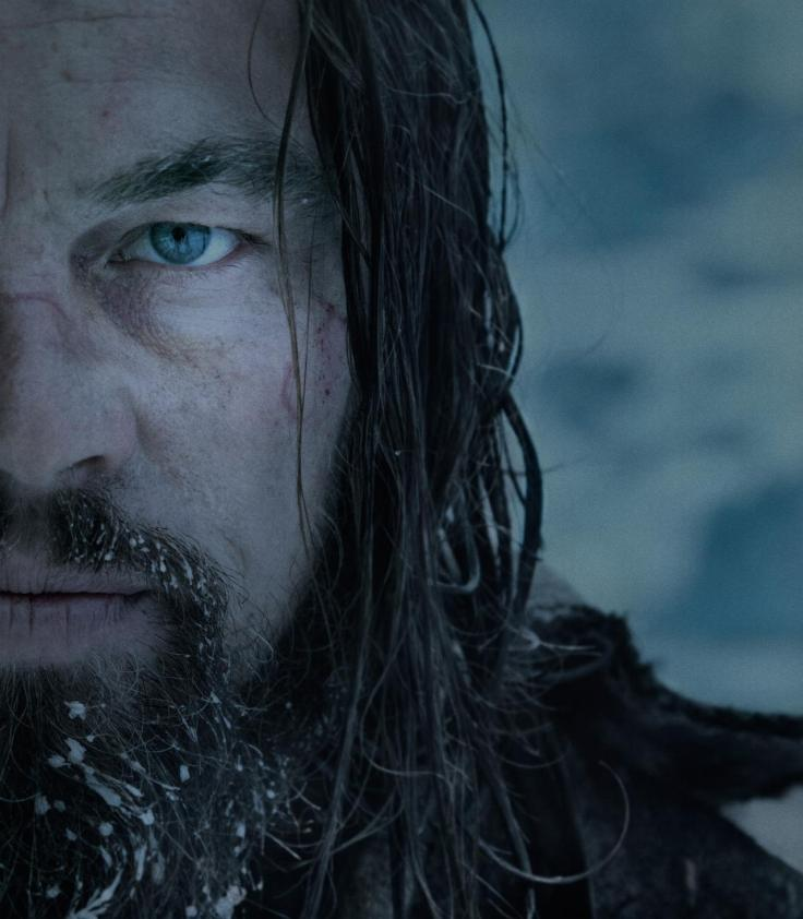 DiCaprio as Hugh Glass