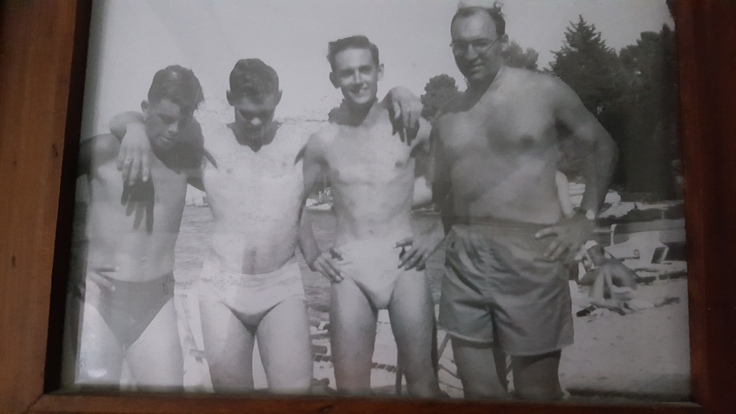 Don, second from left