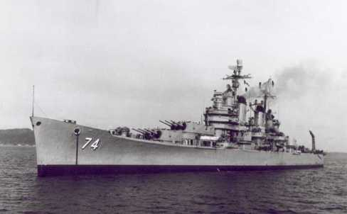 USS Columbus, Heavy Cruiser, 30 November 1944–8 May 1959