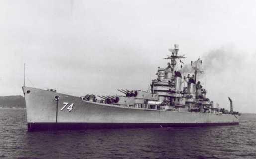 USS Columbus, Heavy Cruiser, 30 November 1944–8 May 1959