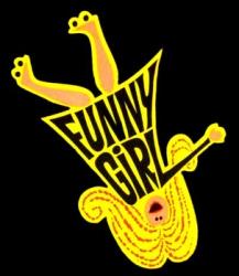 FunnyGirlBlackLogoSml