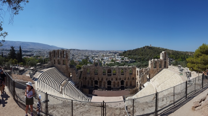 Herod Atticus theater at the Acropolis