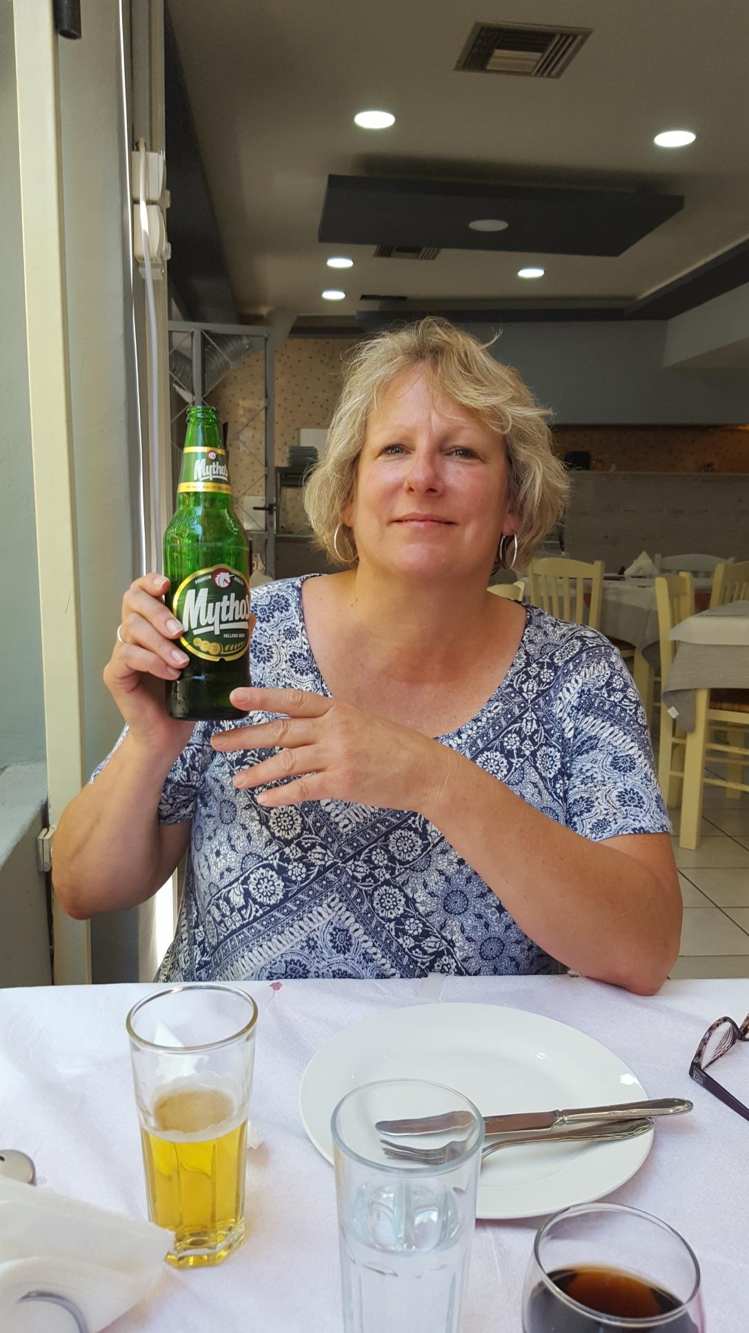 Mythos is the Greek beer is the best.