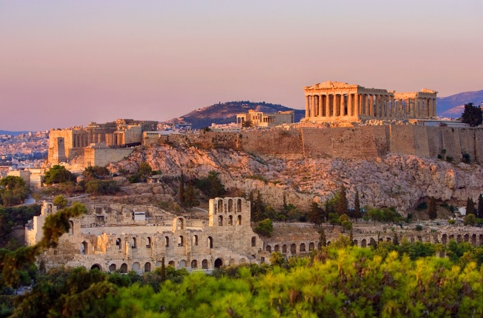 Acropolis and the Parthenon