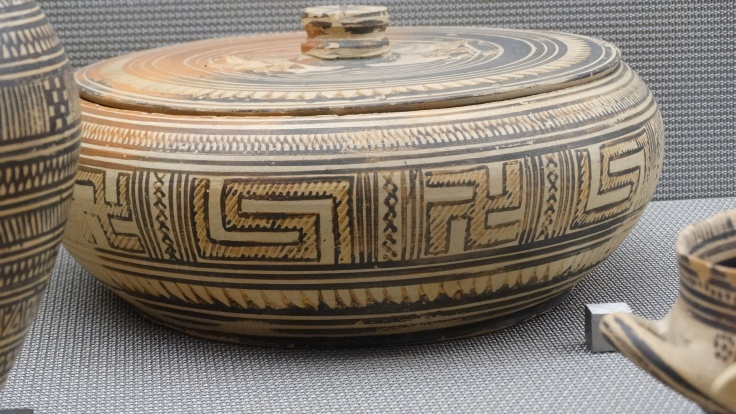 Heraklion Archaeological Museum, Swastika on a