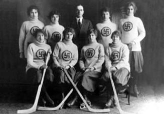 The Edmonton Swastikas Hockey Team