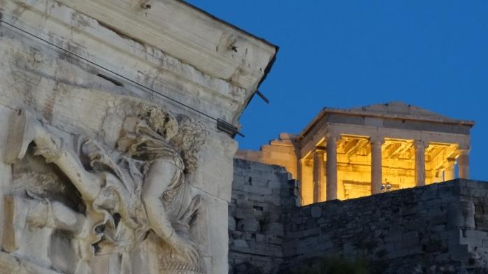 16. Good bye, Athens.