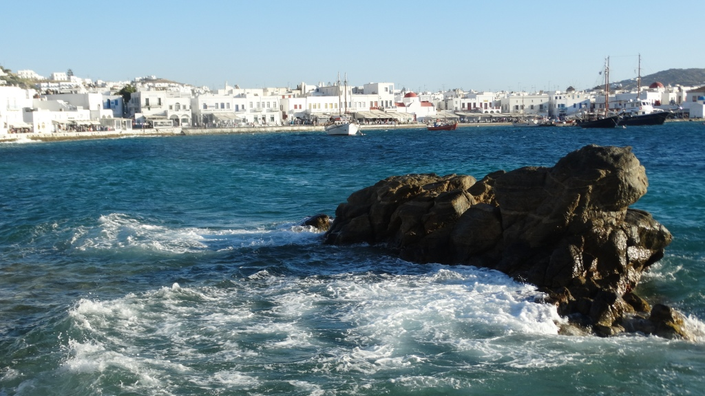 2. Mykonos Harbor