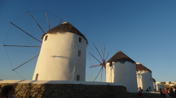 3. Mykonos Windmills